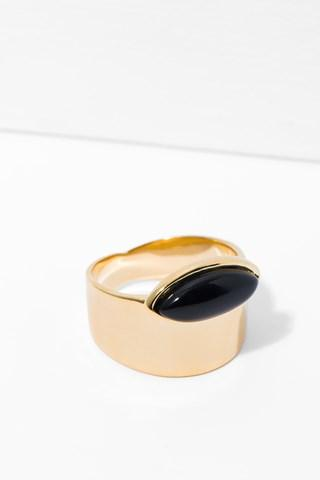 7 For All Mankind Esme Ring In Onyx