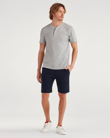 7 For All Mankind Men's 9 Inseam Chino Short In Navy