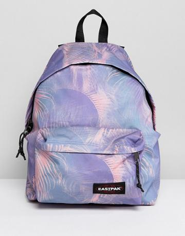Eastpak Padded Pak'r Backpack In Pink Multi Print - Pink