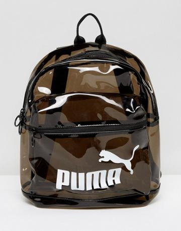 Puma Transparent Backpack - Black