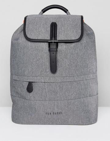 Ted Baker Rayman Backpack - Gray