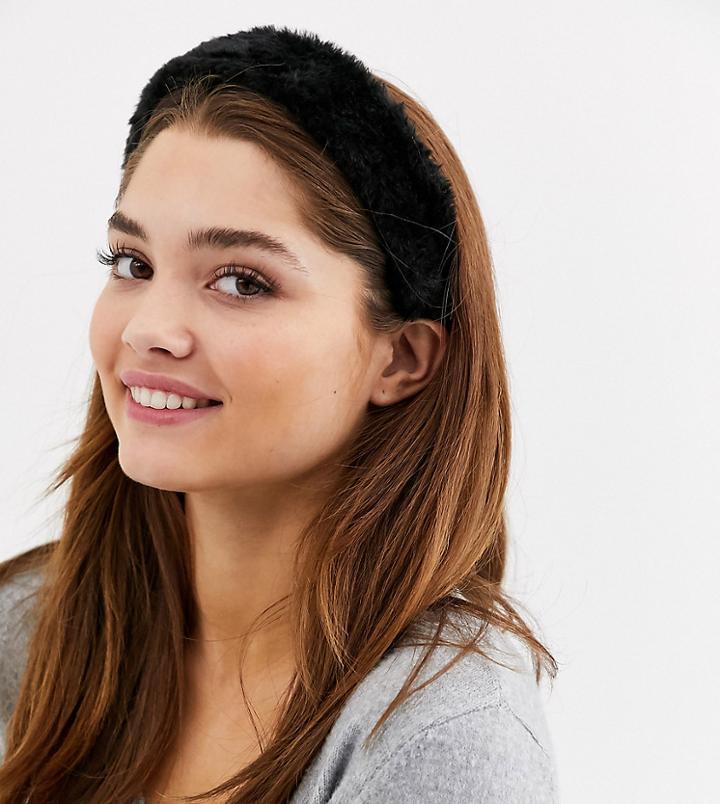 My Accessories London Exclusive Faux Fur Headband