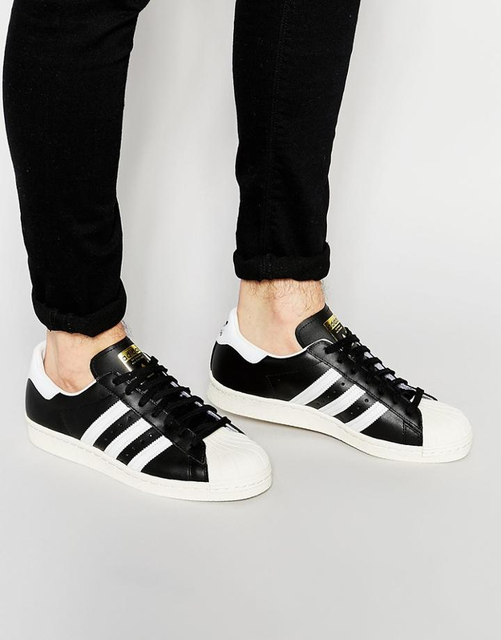 Adidas Originals Superstar 80's Sneakers G61069 - Black