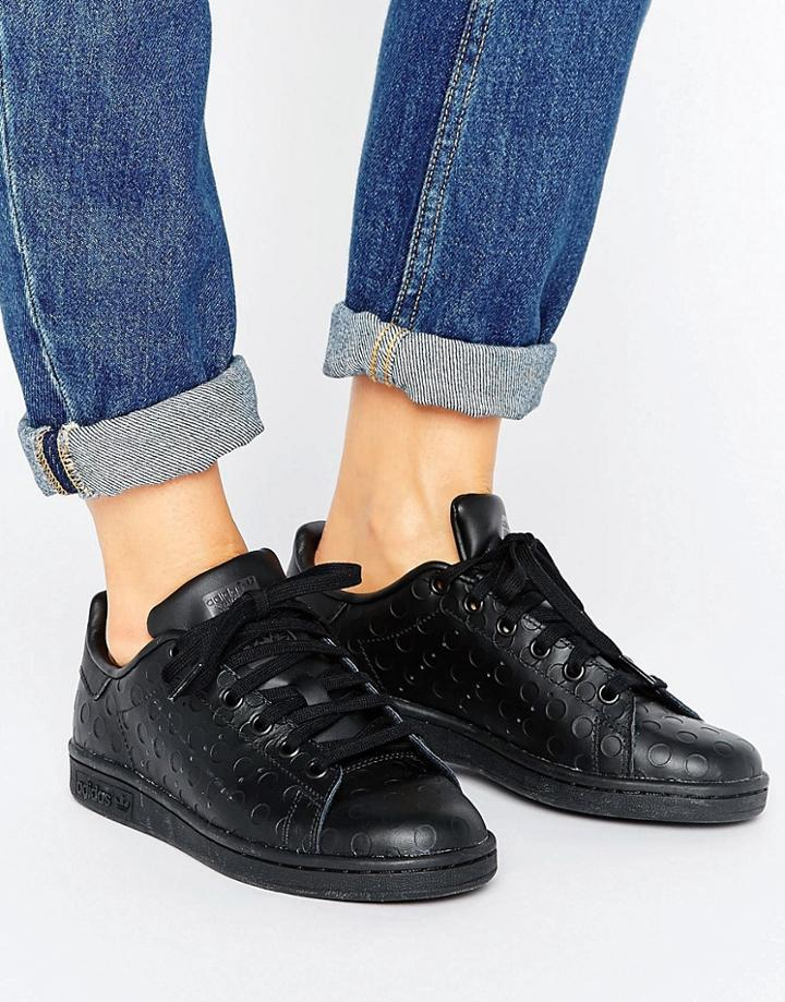 Adidas Stan Smith Sneakers - Black