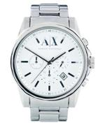 Armani Exchange Stainless Steel Watch Ax2058 - Silver
