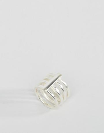 Made Cage Ring - Silver
