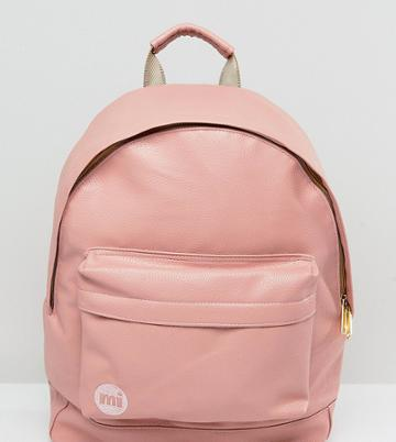 Mi-pac Exclusive Classic Tumbled Backpack In Dusty Pink - Pink