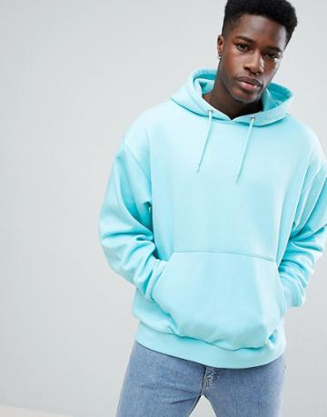 Weekday Big Hawk Hoodie - Blue