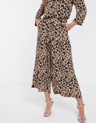 Asos Design Animal Print Culottes