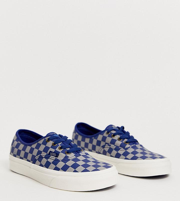 Vans X Harry Potter Ravenclaw Authentic Sneakers