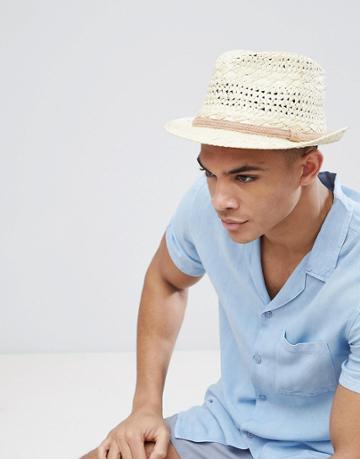 Barts Ibiza Summer Trilby Hat - Beige