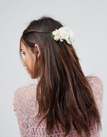Asos Occasion Floral Bloom Hair Clip - Multi