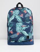 Jack & Jones Printed Backpack - Blue