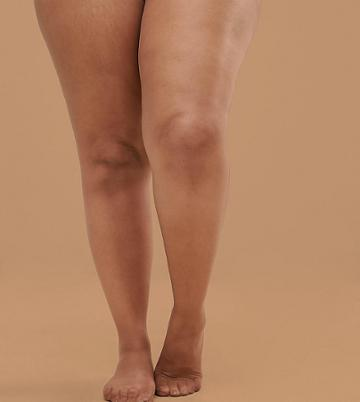 Nubian Skin 15 Denier Nude Tights In Medium - Beige