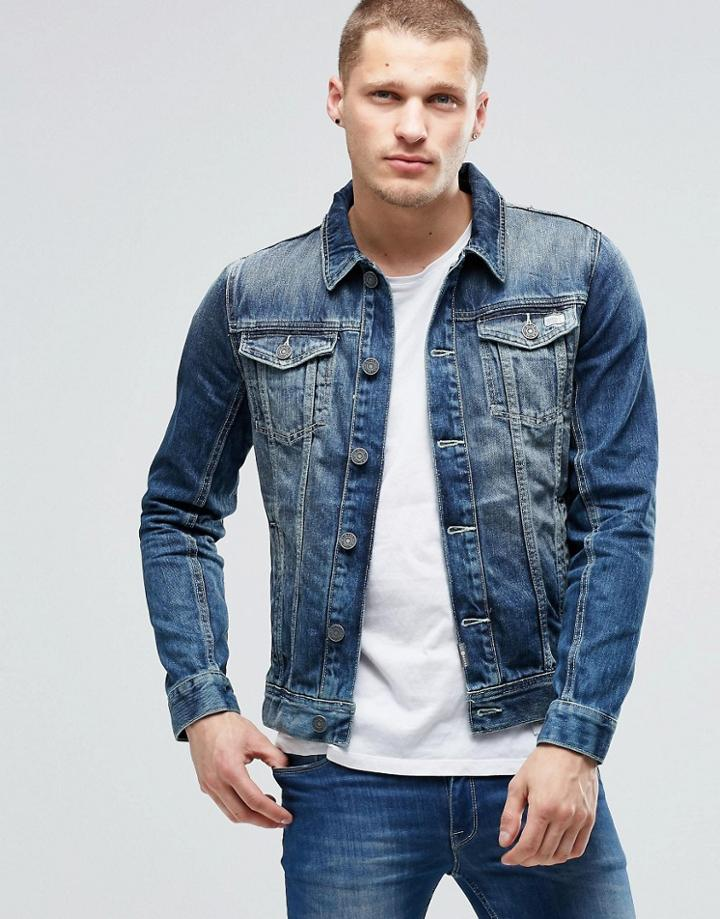 Blend Denim Jacket - Navy