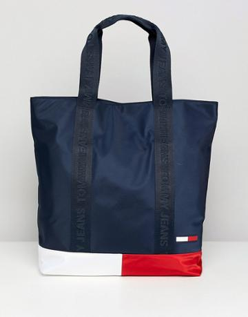 Tommy Jeans Classic Color Block Tote Bag - Multi