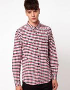 Izzue Gingham Shirt - Red