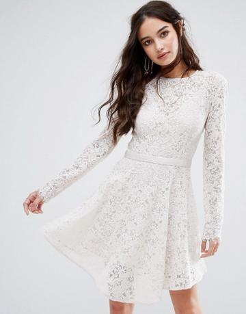 The Jetset Diaries Voyage Mini Dress - White