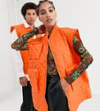 Collusion Unisex Sleeveless Quilted Jacket