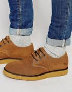 Bellfield Berick Suede Derby Shoes - Brown