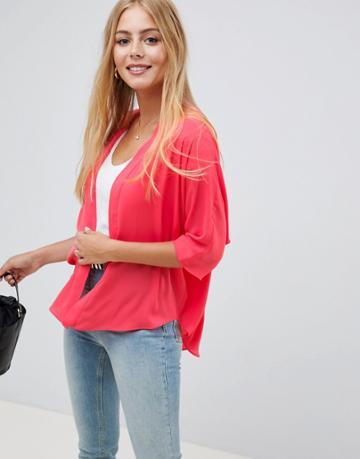 Asos Design Kimono - Pink