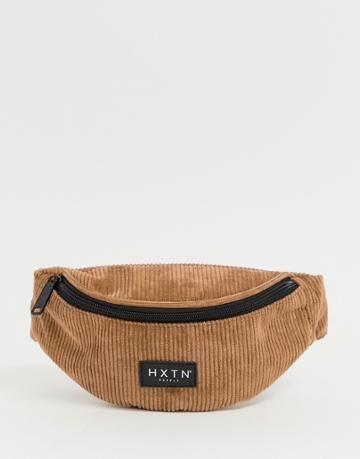 Hxtn Supply Cord Fanny Pack In Tan - Tan