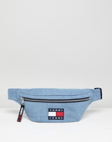 Tommy Jeans 90s Capsule 5.0 Denim Fanny Pack - Blue