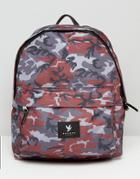Devote Backpack In Camo - Gray