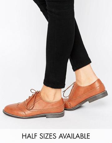 Asos Mayhem Brogues - Tan