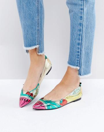 Asos Lemon Ballets - Multi