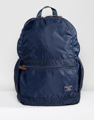 Abercrombie & Fitch Backpack In Navy - Navy