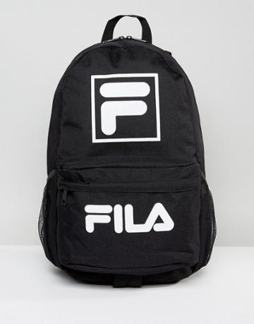 Fila Alberto Backpack In Black - Black