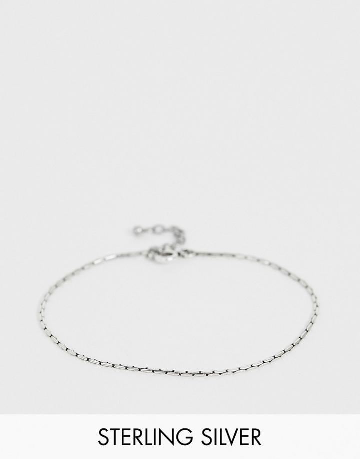 Asos Design Sterling Silver Bracelet
