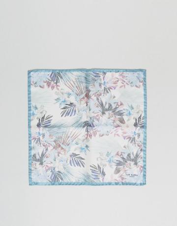 Ted Baker Pocket Square - White