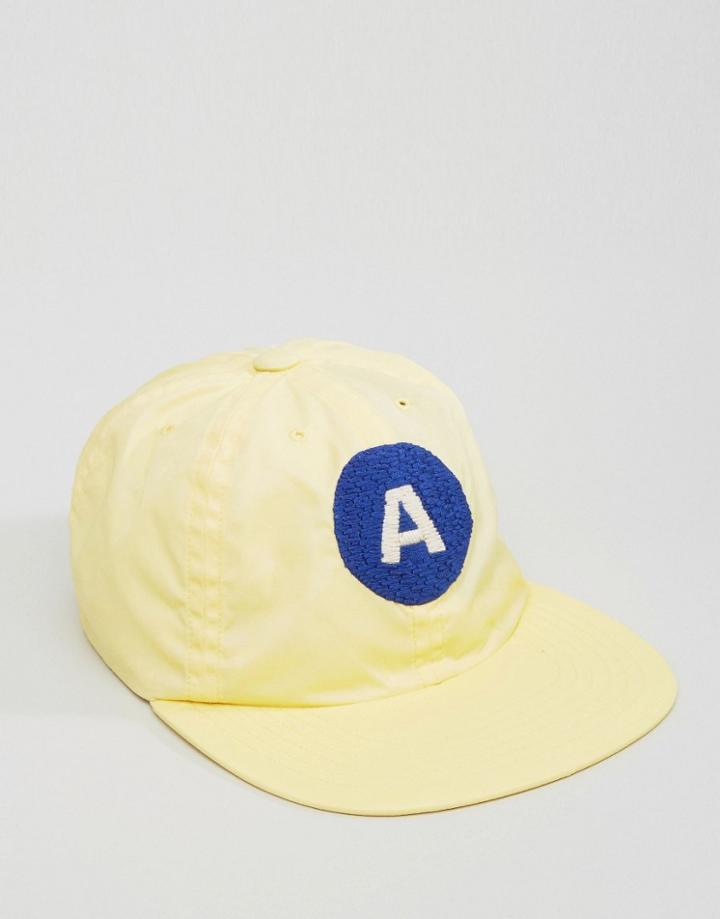 Maharishi Baseball Cap In Yellow - Yellow