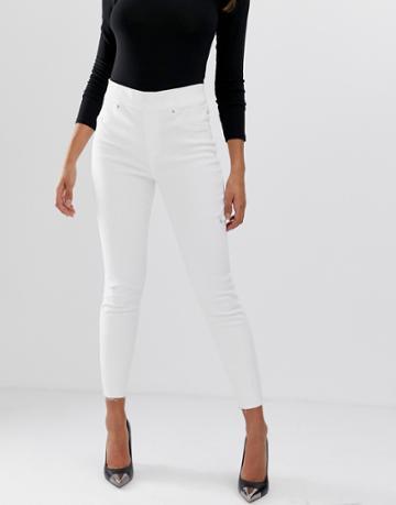 Spanx Distressed Skinny Jeans - White
