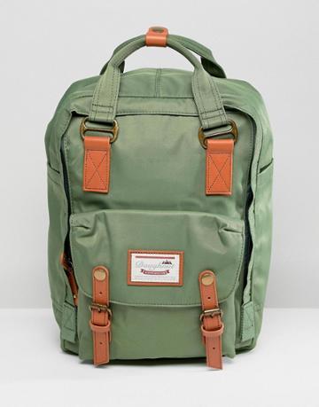 Doughnut Macaroon Backpack In Green - Green