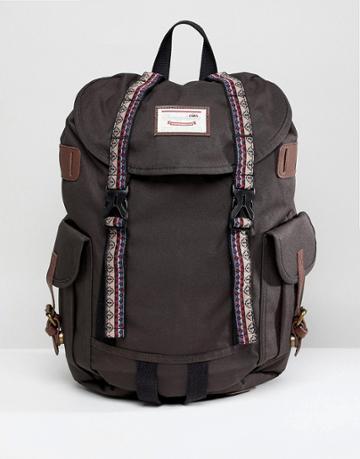 Doughnut Macaroon Woodland Bo-he Backpack In Charcoal - Gray