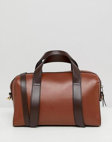 Asos Design Bowler Bag - Tan