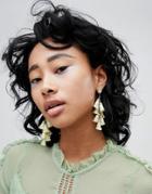 Vero Moda Tassle Earrings - Yellow