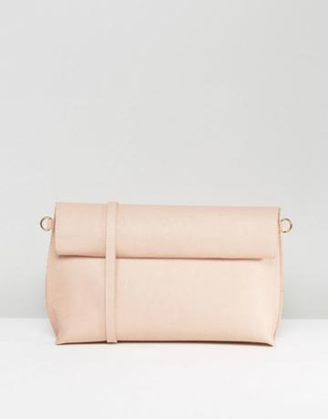 Oasis Reversible Clutch Bag - Beige