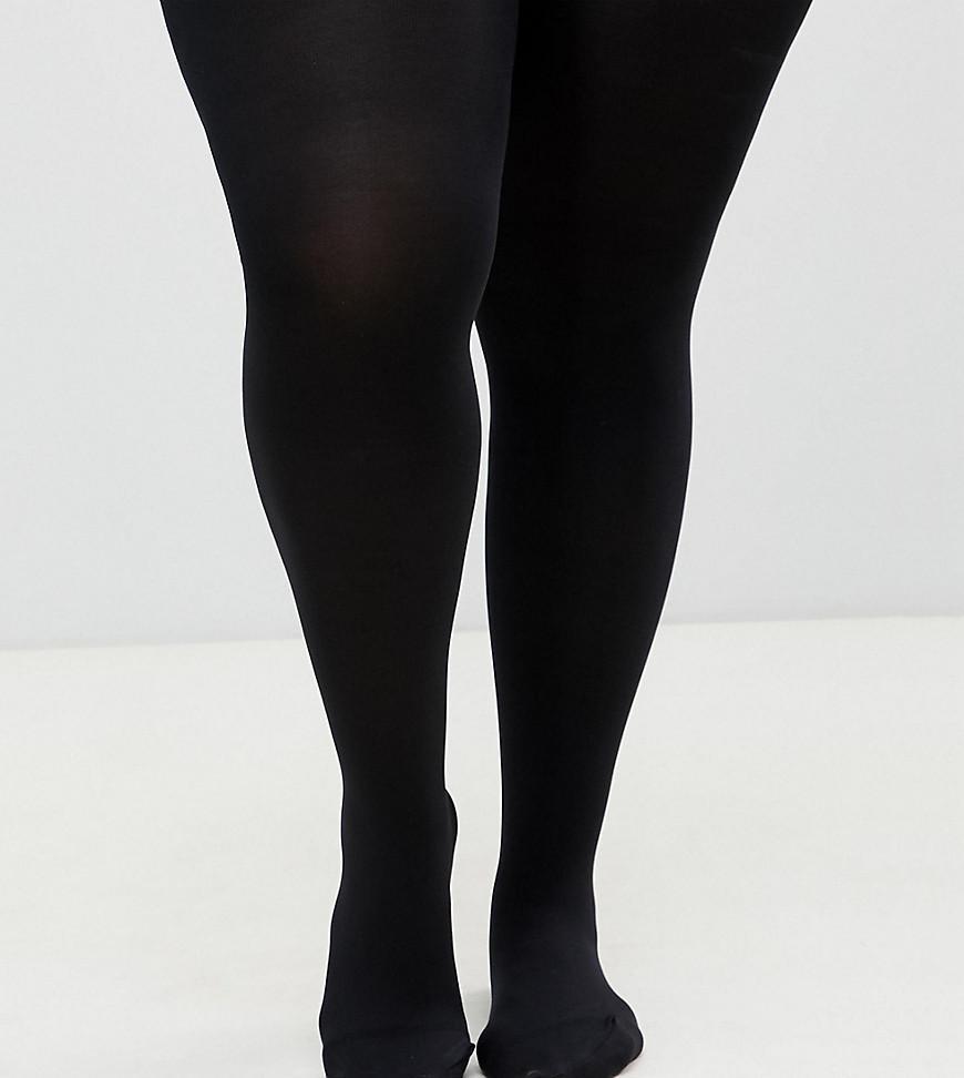 e9f35bcbf60c6 Asos Design Curve 120 Denier Tights - Black | LookMazing