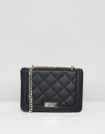 Lipsy Multi-way Cross Body Quilted Bag - Black