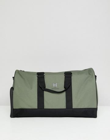 Good For Nothing Logo Carryall In Khaki - Green