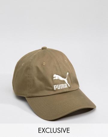 Puma Cap In Green Exclusive To Asos - Green