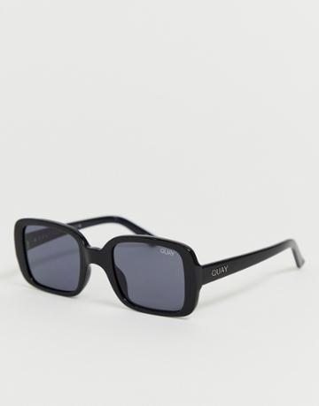 Quay Australia Second Nature Sunglasses In Black
