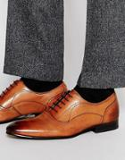 Ted Baker Mapul Leather Oxford Shoes - Brown