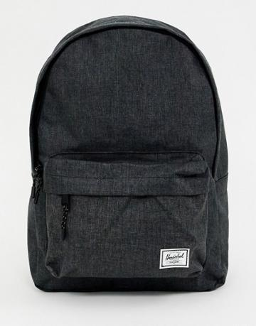 Herschel Supply Co Classic 24l Crosshatch Backpack In Black - Black
