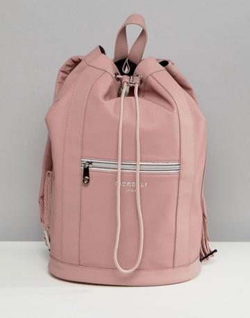 Fiorelli Sport Drawstring Duffle Backpack In Pink - Pink