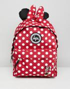 Hype Red Minnie Mouse Disney Backpack - Red